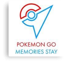 Pokemon Go Memories Stay Canvas Print