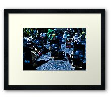 Busy Day at the Office Framed Print