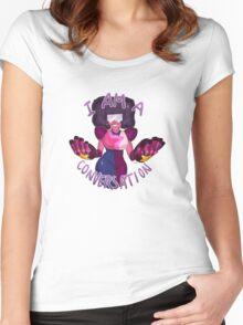 I am a conversation Women's Fitted Scoop T-Shirt