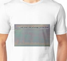 The Freedom In Being Different © Vicki Ferrari Unisex T-Shirt