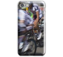 Bicycle race iPhone Case/Skin