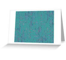 Tropical Stripes Greeting Card