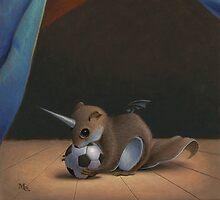 Uni Squirrel by Mark Elliott