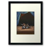 Uni Squirrel Framed Print