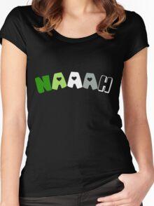 Naaah (Aromantic) Women's Fitted Scoop T-Shirt