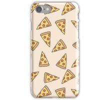 Funny pizza tumblr pattern iPhone Case/Skin