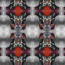 """""""Turning Inward"""" Topsy Turvy, upside down Art by L. R. Emerson II by L R Emerson II"""