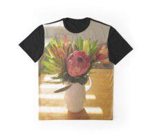 Australian Native Wildflowers Graphic T-Shirt