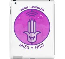 Miss Hiss - Digital Apothecary iPad Case/Skin