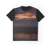Rigby Island At Sunset Graphic T-Shirt