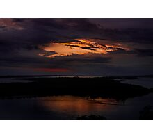 Rigby Island At Sunset Photographic Print