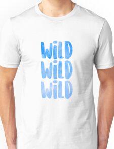 blue wild x 3 Unisex T-Shirt