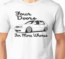 Four Doors For More Whores Unisex T-Shirt