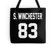 Supernatural Jersey (Sam Winchester) Tote Bag
