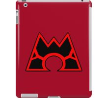 Team Magma (Style B) iPad Case/Skin