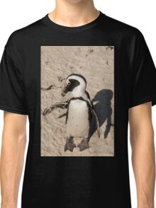 Penguin shadow boxing, South Africa Classic T-Shirt