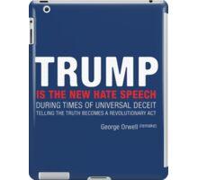 The New Hate Speech  iPad Case/Skin