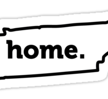 Tennessee. Home. Sticker