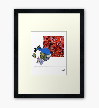 How Much Art Can One Endure? Framed Print