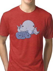 Blushy Octopus! Tri-blend T-Shirt