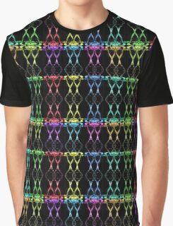 Mixed Colored Love Glasses Graphic T-Shirt