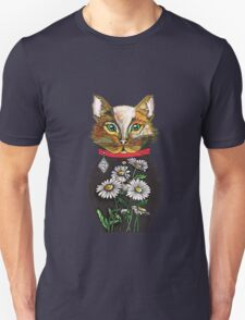 Daisy, Russian doll tattoo style cat Unisex T-Shirt