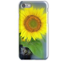 glowing sunflower iPhone Case/Skin