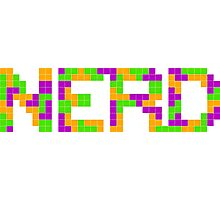 Tetris Nerd Photographic Print