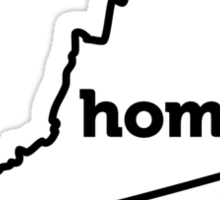Virginia. Home. Sticker