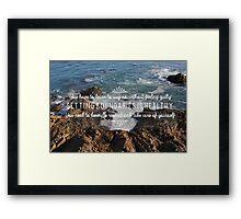 Wave After Wave Framed Print