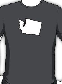 Washington State Outline T-Shirt