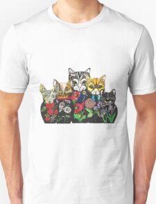 Cat Russian doll family Unisex T-Shirt