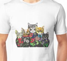 Cat Russian doll family Unisex T-Shirt