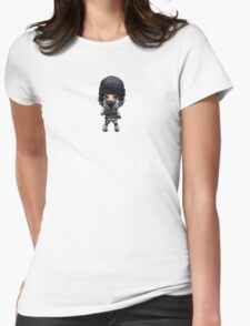 Frost Chibi Womens Fitted T-Shirt