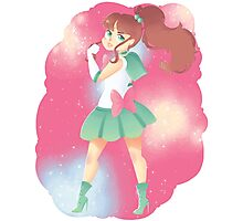 Sailor Jupiter Photographic Print