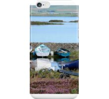 Orkney Boats iPhone Case/Skin