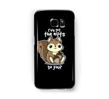 Squirrel nuts Samsung Galaxy Case/Skin