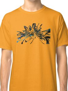 blue space abstract Classic T-Shirt