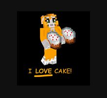 Stamplongnose I Love Cake! Merch Unisex T-Shirt