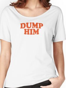 DUMP HIM - Britney Spears message tee Women's Relaxed Fit T-Shirt