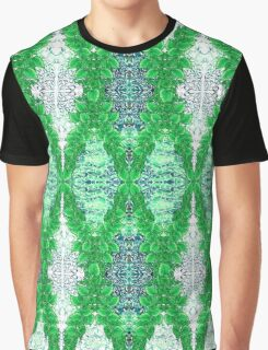 Ottoman Leaves in Emerald sensations Graphic T-Shirt
