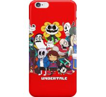 Undertale - Presentation iPhone Case/Skin