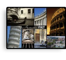 Incredible Italy Canvas Print