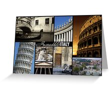 Incredible Italy Greeting Card