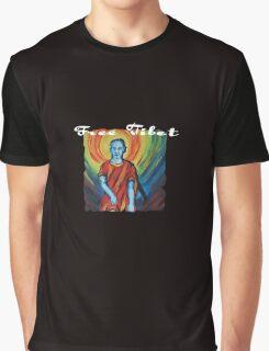 Free Tibet Graphic T-Shirt