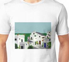 VILLAGE IN GREECE Unisex T-Shirt