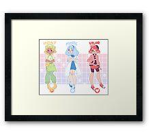 Pokemon Go Trainers Framed Print