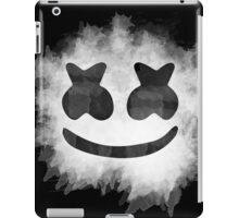 Marshmello Watercolor (Black) iPad Case/Skin