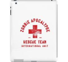 Zombie Apocalypse Rescue Team iPad Case/Skin