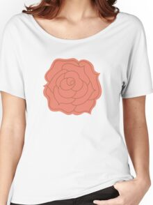 Romantic Roses Women's Relaxed Fit T-Shirt